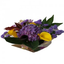 Purple Bouquet x 4