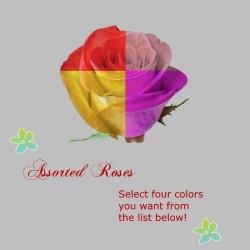 Assorted Long Stem Roses -...